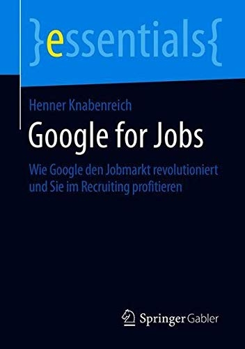 Buchcover Google for Jobs