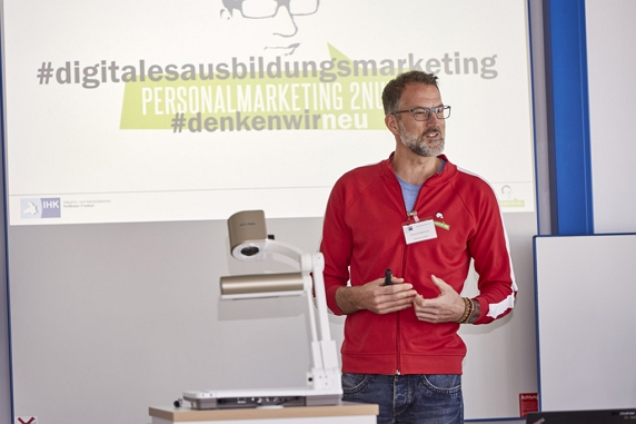 Vortrag zum Thema Azubi-Recruiting bei der IHK Heilbronn