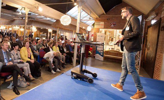 Vortrag bei den GEA Personalgesprächen 2017 - Bild Trinkhaus Fotografie