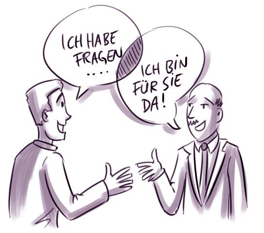 Interaktion auf der Karriere-Website: Im Dialog mit dem Bewerber