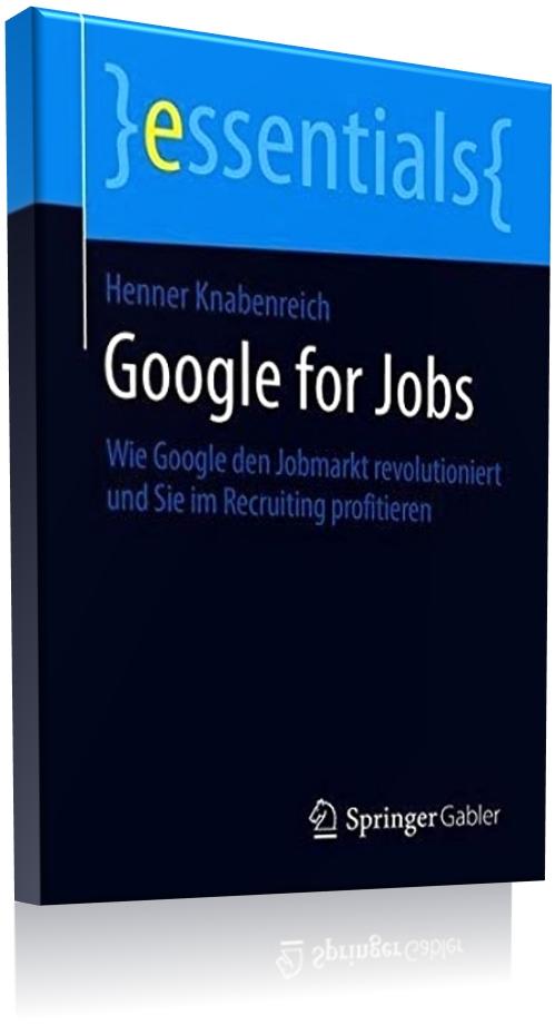 Buchcover Google for Jobs - Deutsche Ausgabe