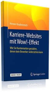 Buchcover - Karrierewebsites mit Wow-Effekt